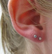 Double Ear Lobe Piercing Earrings | www.pixshark.com ...
