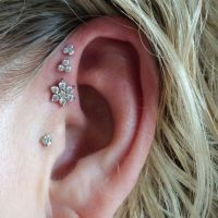 Triple Ear Lobe Piercing: Pain, Aftercare, Jewelry, Price