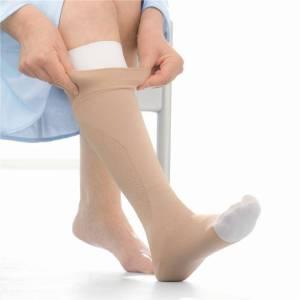 Jobst UlcerCare Knee High Zipper Socks
