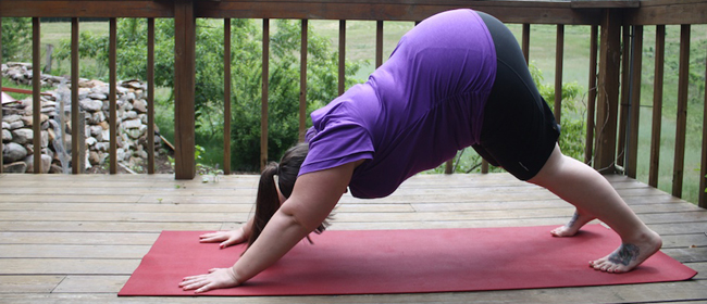 Downward facing dog: A guide for plus size yogis & beginners