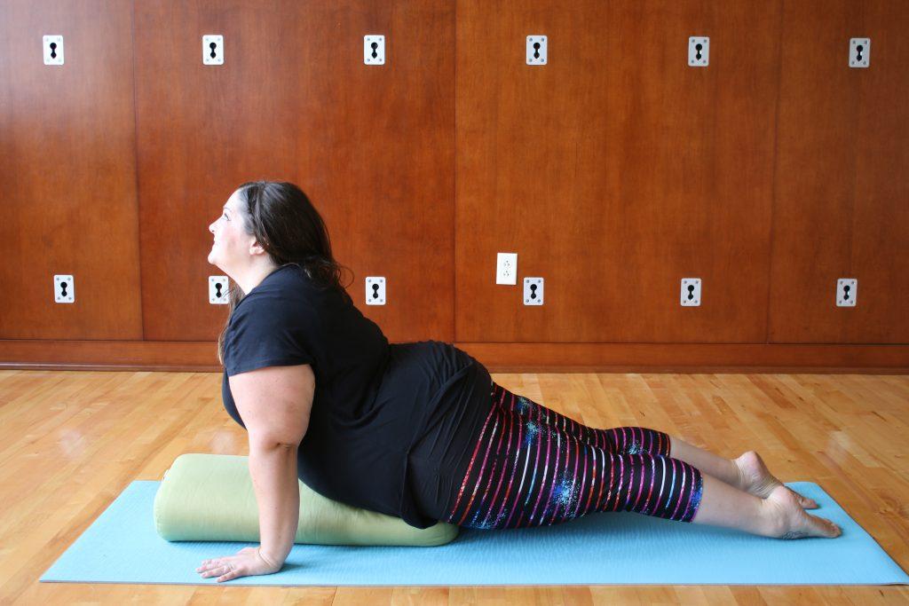 Chaturanga  UpwardFacing Dog Modifications  props  Body Positive Yoga