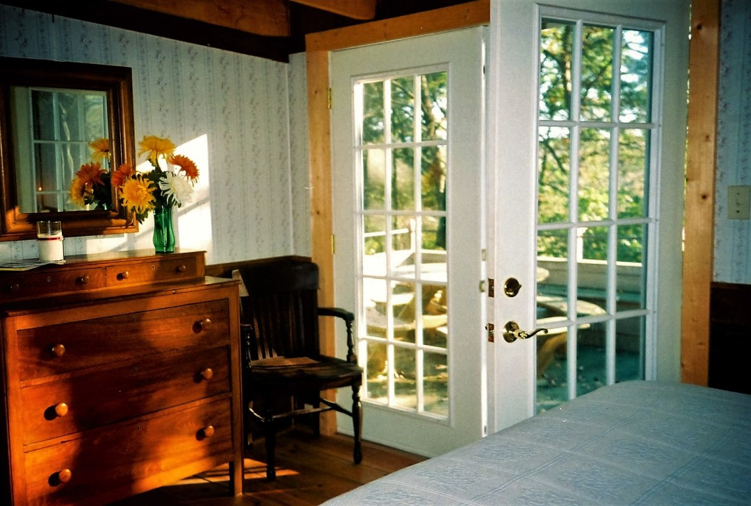 One of the modernized 1700s cabins