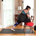 Pigeon pose: Modifications & variations for plus size bodies
