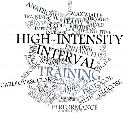 Burn Fat Fast with High Intensity Interval Training (HIIT