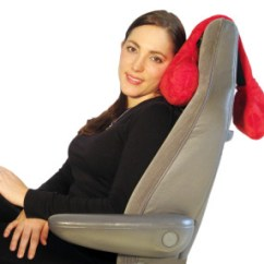 Chair Headrest Pillow Korum Fishing On Ebay Adjustable Hangs Over The Back Of Your Seat And Supports Head, Neck, Or Any ...