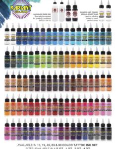 Scroll down to see color charts also bodyessupply rh bodyscapessupply yolasite