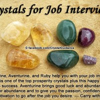Crystals for Job Interviews
