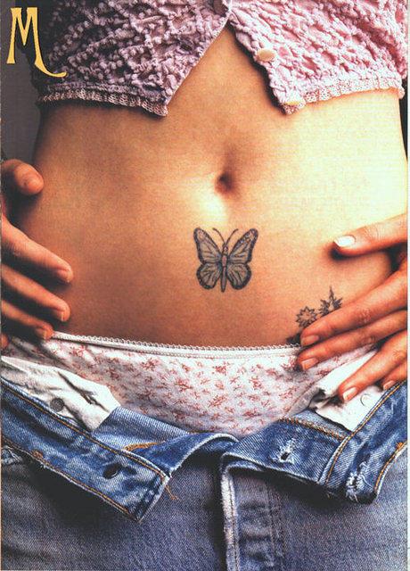 Drew Barrymore Tattoo  bodysstyle