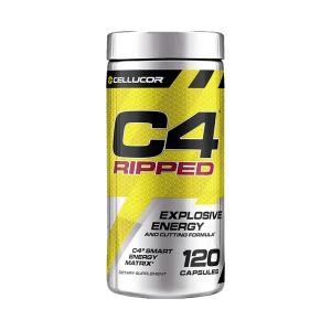 CELLUCOR C4 RIPPED PRE-WORKOUT / QUEMADOR 120 CAPSULAS