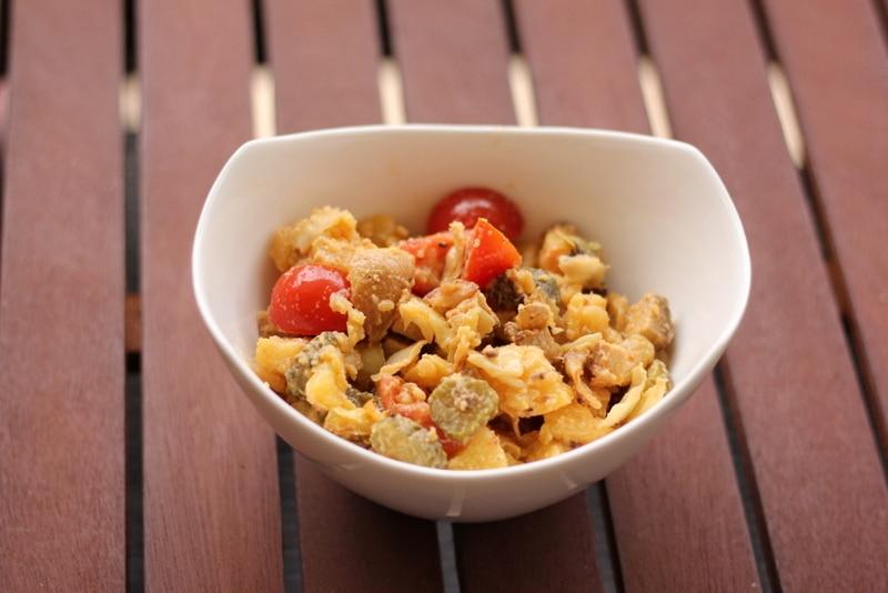 Veganer Bauernsalat - schnell, einfach und ein super Sattmacher.
