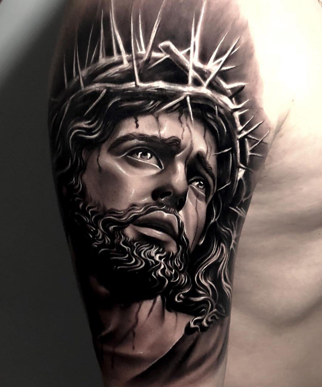 Jesus Tatoos : jesus, tatoos, Lovable, Jesus, Tattoos, Image, Religious, Faith, Tattoo