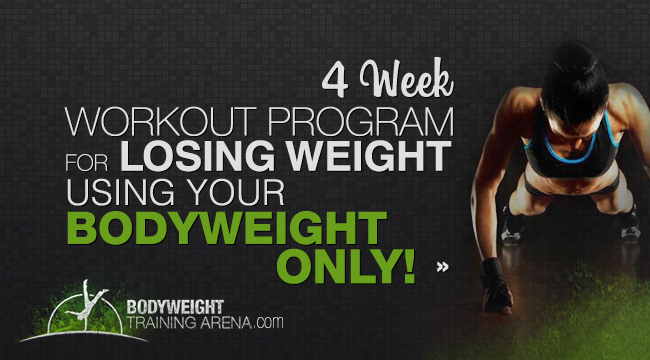 4 weeks workout for