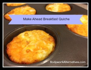 Make Ahead Breakfast Quiche