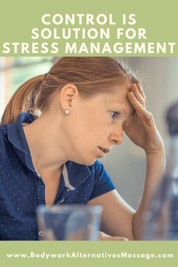 control is the solution for stress management