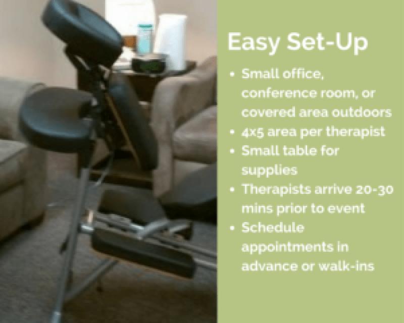 honolulu corporate chair massage workplace
