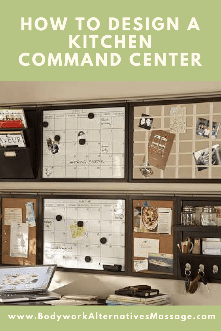 How To Design A Kitchen Command Center