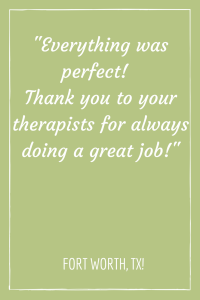 best chair massage near me testimonial