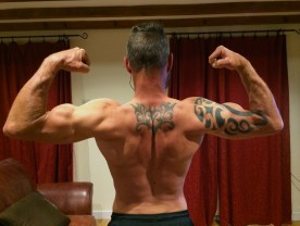 BEFORE I have always kept a relatively low body fat level, due in a large part to a high volume of endurance training. (early November 2014)