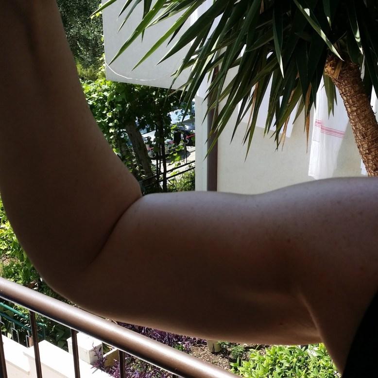 Size-Zero-Muskeln