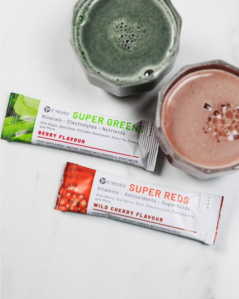 It Works Super Greens Super Reds Erfahrungen
