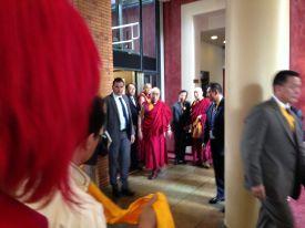Dalai Lama in Rotterdam.