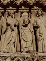 Notre Dame Parijs beeld Johannes de Doper sept. 2019 foto Sodis Vita
