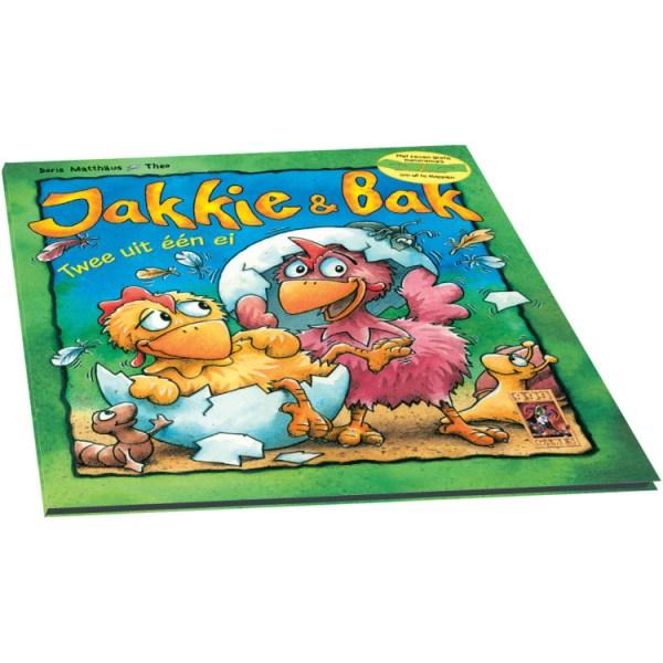 999 Games Jakkie en Bak Leesboekje