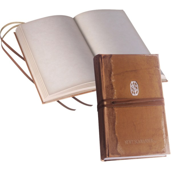 Noble Collection Fantastic Beasts: Newt Scamander's Journal notitieboek