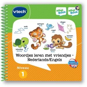 VTech MagiBook - Woordjes leren met vriendjes Nederlands / Engels