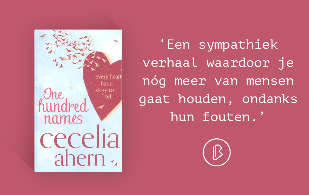Recensie: Cecelia Ahern – One Hundred Names