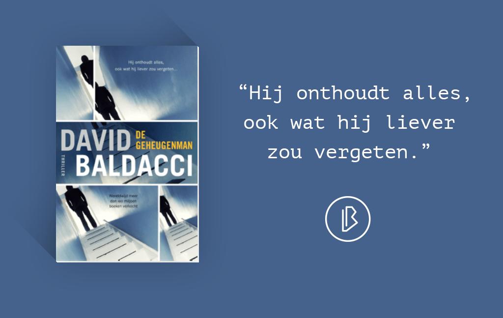 Recensie: David Baldacci – De Geheugenman