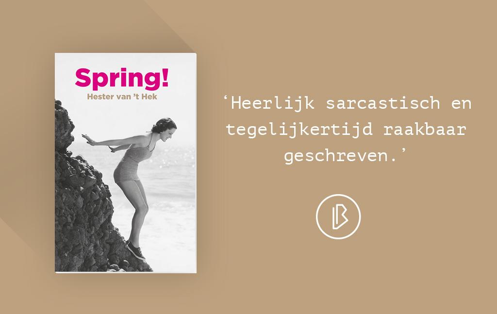 Recensie: Hester van 't Hek – Spring!