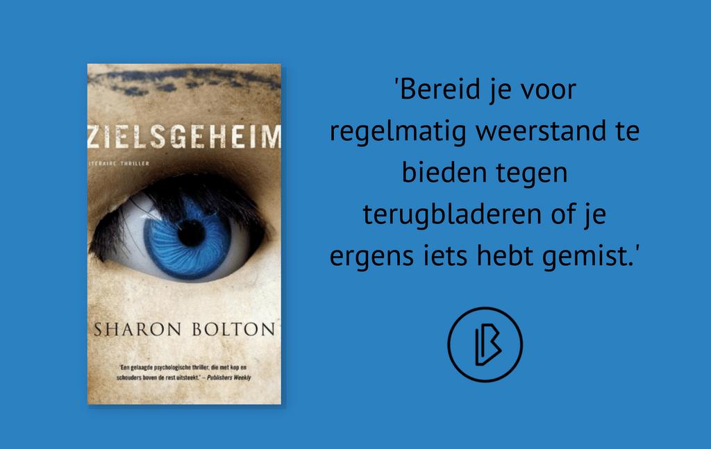 Recensie: Sharon Bolton – Zielsgeheim