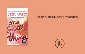 Recensie: Erin Watt - One small thing
