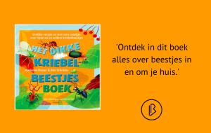 Recensie: Marianne Busser & Ron Schröder – Het dikke kriebelbeestjesboek