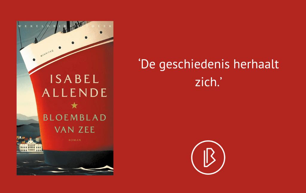 Recensie: Isabel Allende – Bloemblad van zee