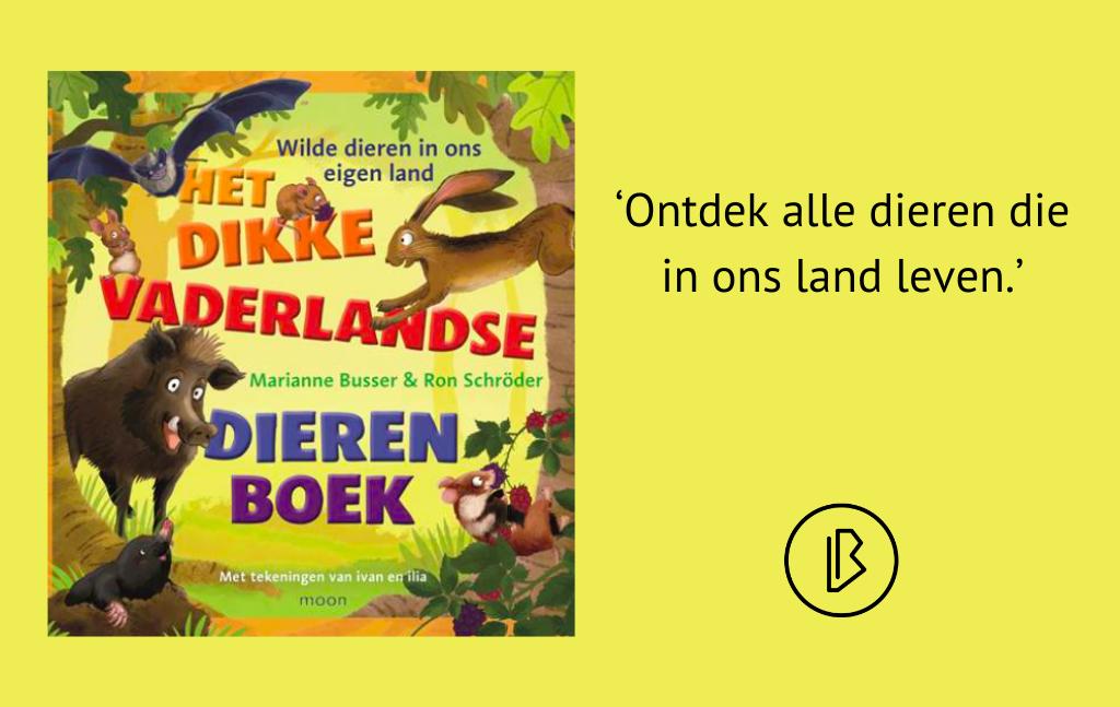 Recensie: Marianne Busser & Ron Schröder – Het dikke vaderlandse dierenboek