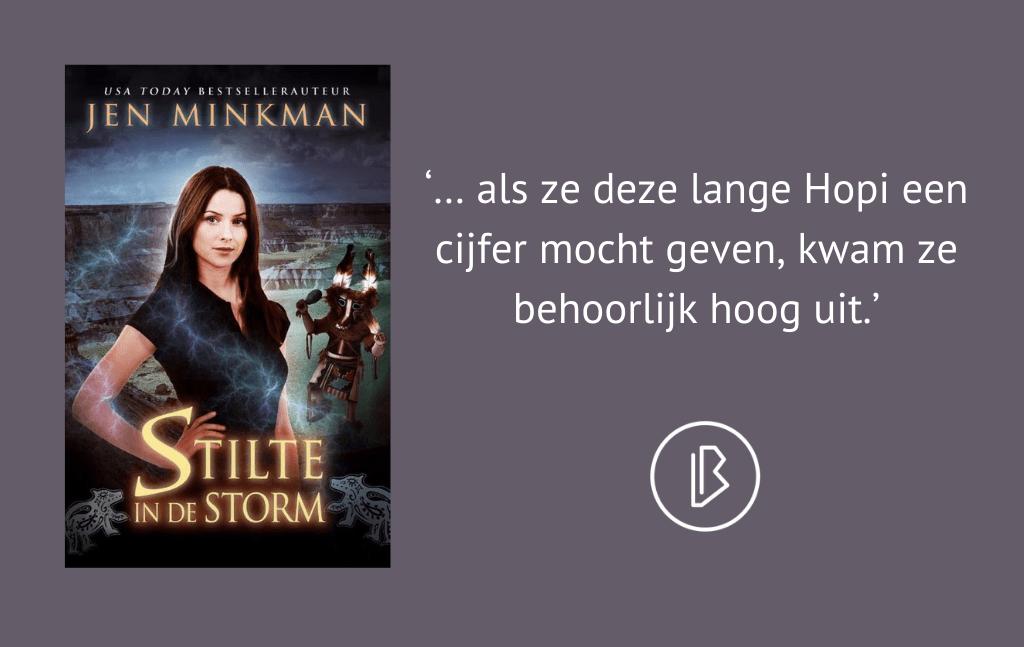Recensie: Jen Minkman – Stilte in de storm