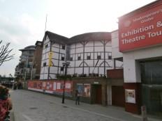 The Globe, een reconstructie van Shakespeares theater
