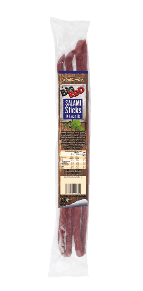 Big Red Salami Sticks Klassik