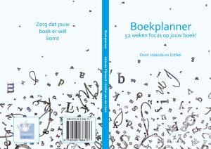 Boekplanner cover achterflap