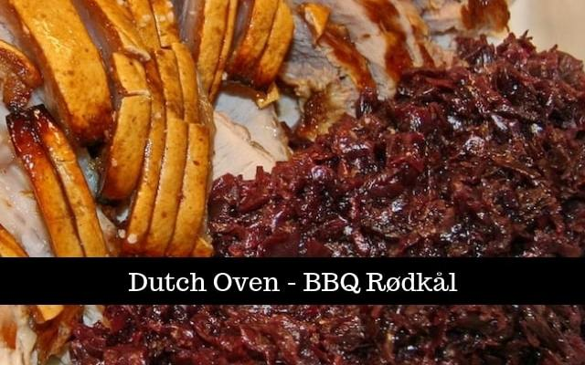 Dutch Oven BBQ Rødkål