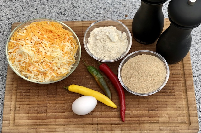 Ingredienser til Chili cheese Nuggets
