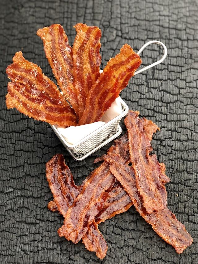 Candiet Bacon Jerky - Lørdagsslik til os der elsker Bacon