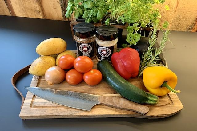 Ingredienser til Ratatouille