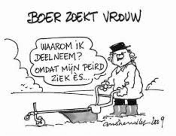 Boer zoekt vrouw  Blog Zonder Naam