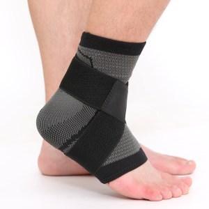 Orthopedische enkelbrace voor verzwikt gewricht
