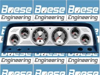 1964-1966 Chevy Truck Gauge Panels