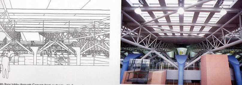 Detail Struktur yang di exposed