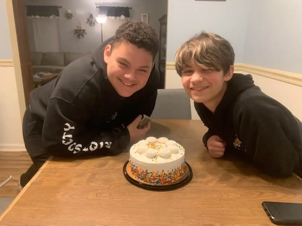 Two 13-year-old brothers are participating in Moderna's vaccine trial for kids